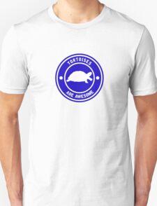 Tortoises are awesome (Blue) Unisex T-Shirt