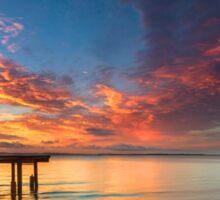 Morning Tide - Cleveland Qld Australia Sticker