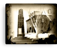 Haunted Cenotaph Canvas Print