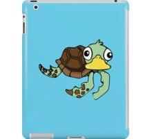 TURTLE DUCK iPad Case/Skin