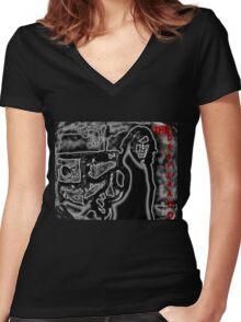 The Desperado Women's Fitted V-Neck T-Shirt