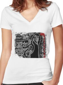 The Desperado Women's Fitted V-Neck T-Shirt