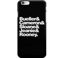 BUELLER & iPhone Case/Skin