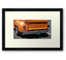 Chevy Step-side Framed Print