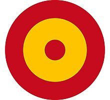 Spanish Air Force - Roundel Photographic Print