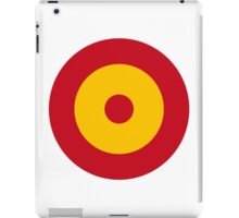 Spanish Air Force - Roundel iPad Case/Skin