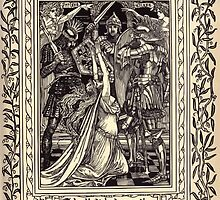Spenser's Faerie queene A poem in six books with the fragment Mutabilitie Ed by Thomas J Wise, pictured by Walter Crane 1895 V2 49 - Bables Bloudie Hands may not be by wetdryvac