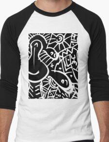 SOC Pop-Art  Men's Baseball ¾ T-Shirt