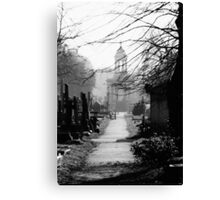 Brompton Cemetery Canvas Print