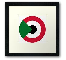 Sudanese Air Force - Roundel Framed Print