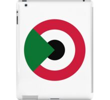 Sudanese Air Force - Roundel iPad Case/Skin
