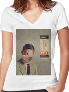 Fell Women's Fitted V-Neck T-Shirt