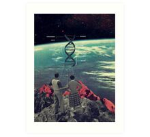 Distance And Eternity Art Print