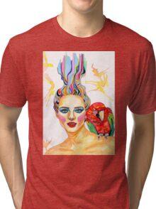 Carmen - A tropical mind Tri-blend T-Shirt