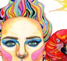 Carmen - A tropical mind Sticker