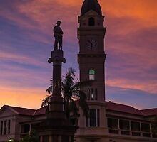 Sunset Over The Lone Anzac by Steve Bass