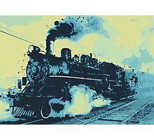 Morning train 1946 Photographic Print