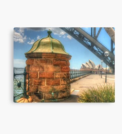 Location, location, location !! Metal Print