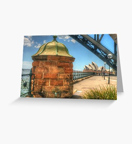 Location, location, location !! Greeting Card