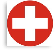 Swiss Air Force - Roundel Canvas Print