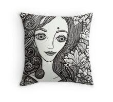 Briar Rose Throw Pillow