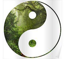 Yin Yang Jungle Poster