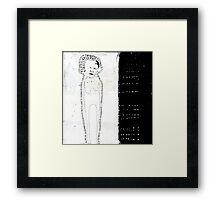 « aura » Framed Print