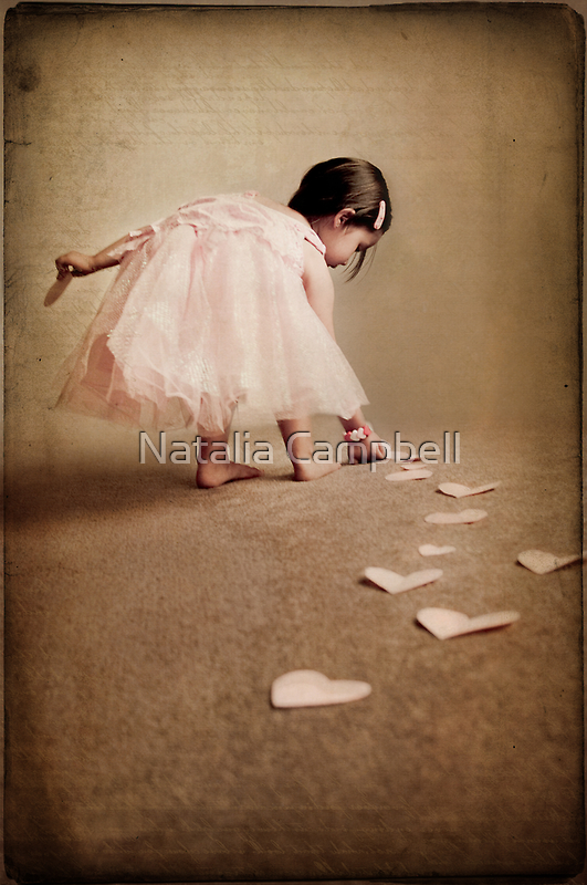 follow the love trail... by Natalia Campbell