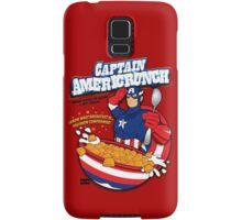 Captain Americrunch Samsung Galaxy Case/Skin
