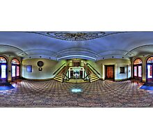Tamworth Town Hall foyer, New South Wales Photographic Print