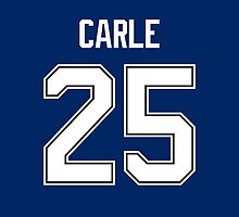 Tampa Bay Lightning Matthew Carle Jersey Back Phone Case by Russ Jericho