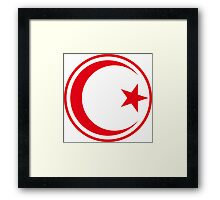 Tunisian Air Force - Roundel Framed Print