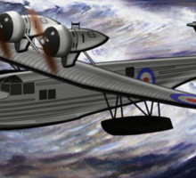 A Saro Cloud A29 of the Royal Air Force Sticker