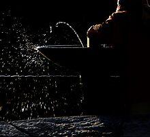 The drinking fountain by Barbara  Corvino
