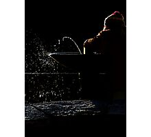 The drinking fountain Photographic Print