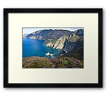 Slieve League Framed Print