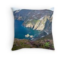 Slieve League Throw Pillow