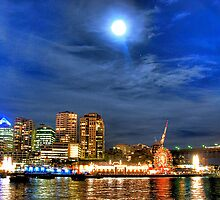 Moonlight on Milsons - Moods of A City - The HDR Experience by Philip Johnson