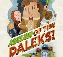 Doctor Who - Asylum of The Daleks! by jimmyrogers