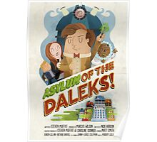 Doctor Who - Asylum of The Daleks! Poster