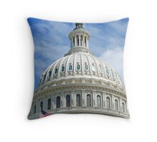 Dome of the Capitol Throw Pillow