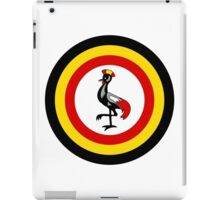Uganda Air Wing - Roundel iPad Case/Skin