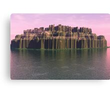 Eroded Island Canvas Print