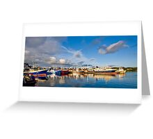 Killybegs Harbour Greeting Card