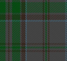 00366 Wicklow County District Tartan  Sticker