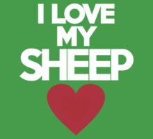 I love my sheep Kids Clothes