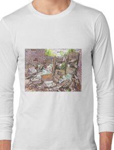 Filing Piles Up Long Sleeve T-Shirt