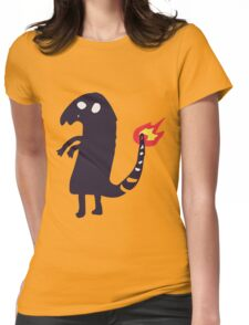 Charmander tattoo fail Womens Fitted T-Shirt