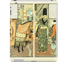 The Forty Thieves by Walter Crane 1898 12 - Finding That Her Husband Did Not Return iPad Case/Skin