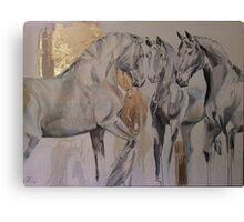 Baroque Herd Canvas Print